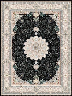 فرش قیطران طرح ساینا فرش قیطران